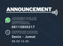 Nomor Admin H.I